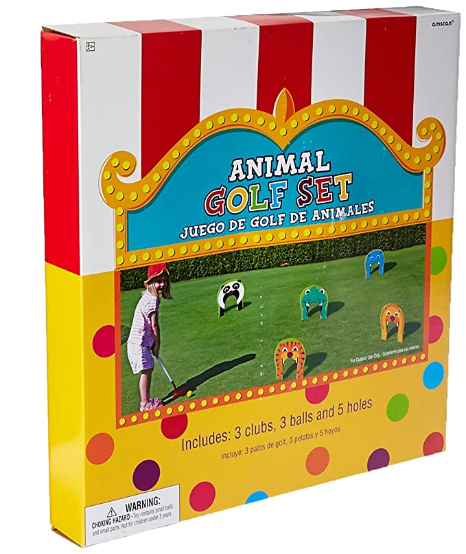 Amazon.com: Animal Golf Set 11pc | Game Collection | Party ...