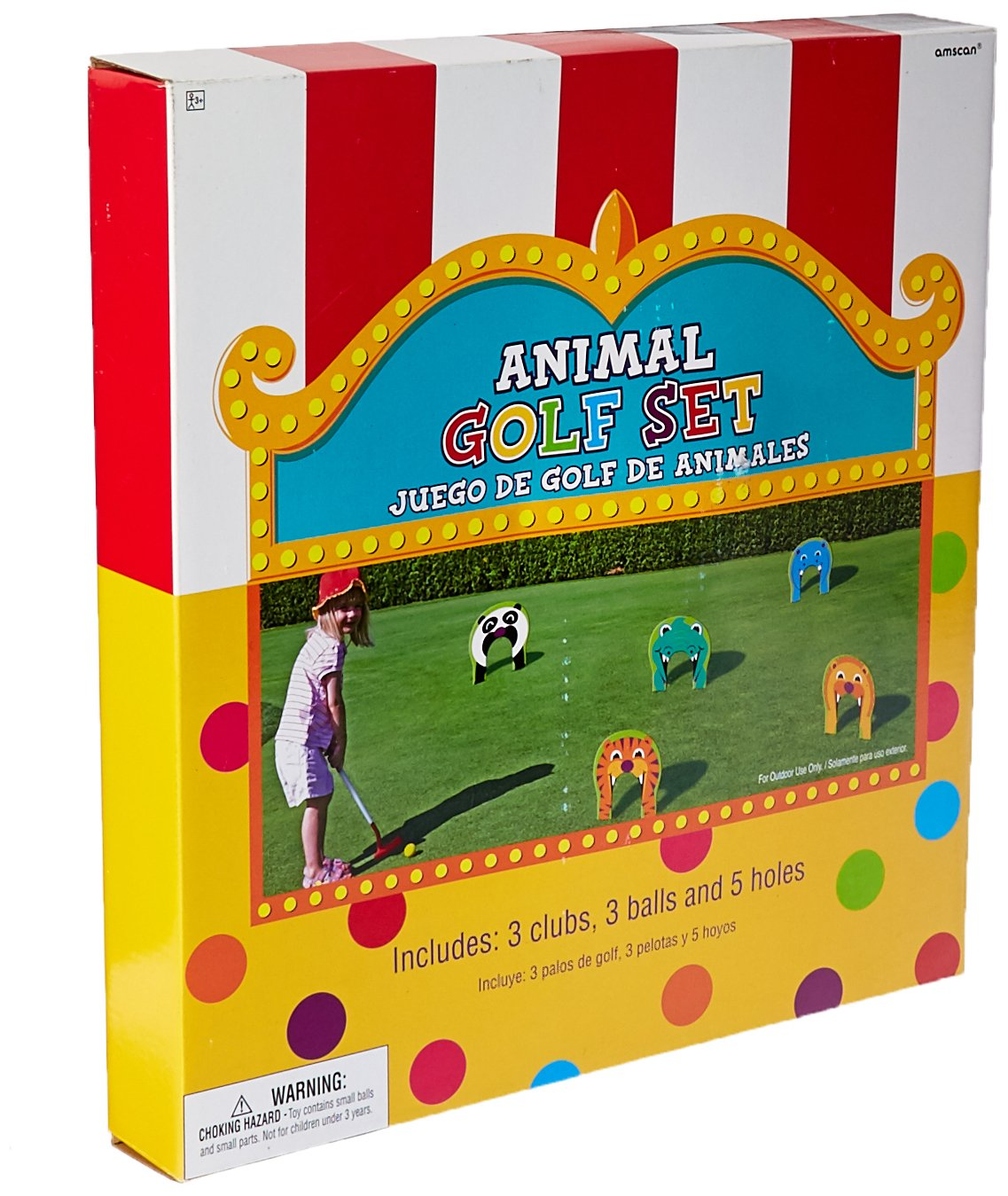 Animal Golf Set 11pc | Game Collection | Party Accessory by Amscan