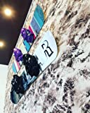 YYST Snowboard Storage Rack Display Rough Wall