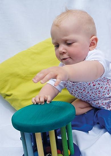 Amazon.com: Big Rolling Rueda de madera Baby Toy con ...