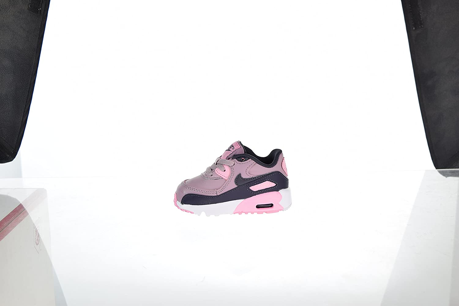 4b2184f6cb7f2 NIKE Air Max 90 Leather Toddler's Shoes Elemental Rose 833379-602