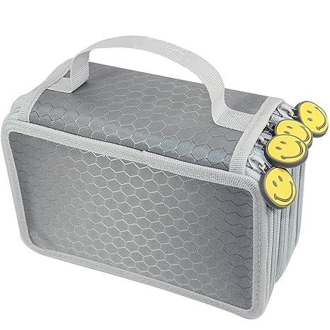 Yimoji 72 Inserer Portable Grande Capacite Multicouches Trousse