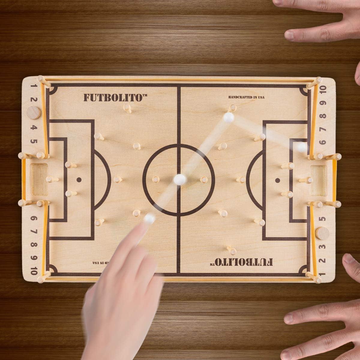 Pelaez Creative LLC Futbolito - Juego de Mesa de fútbol: Amazon.es ...