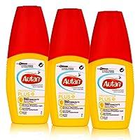 Autan Protection Plus Multi Insektenschutz Pumpspray 100ml (3er Pack) schützt bis zu 8 Stunden vor Mücken, bis zu 5 Stunden vor Stechfliegen wie z.B. Bremsen