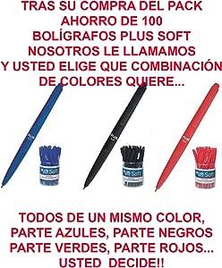 Bolígrafos Baratos Plus Soft 0,7 Colores Surtidos a escoger por ...