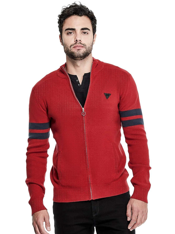 Guess Factory Men's Louie Mock-Neck Sweater GuessFactory