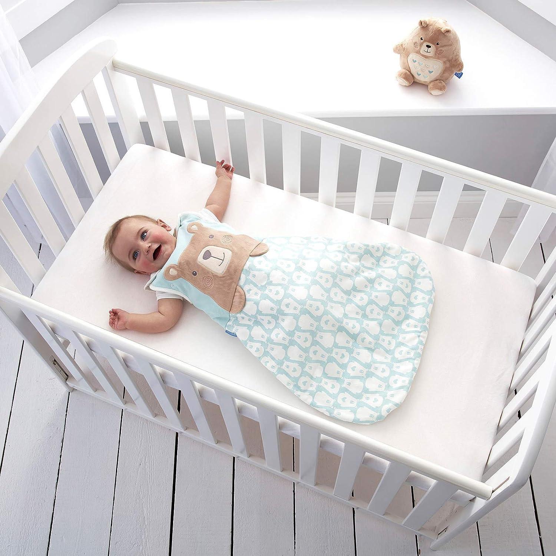 0-6 Months 2.5 Tog The Gro Company Bennie The Bear Grobag Baby Sleeping Bag