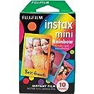Filme instantâneo Fujifilm Instax Rainbow com 10 poses
