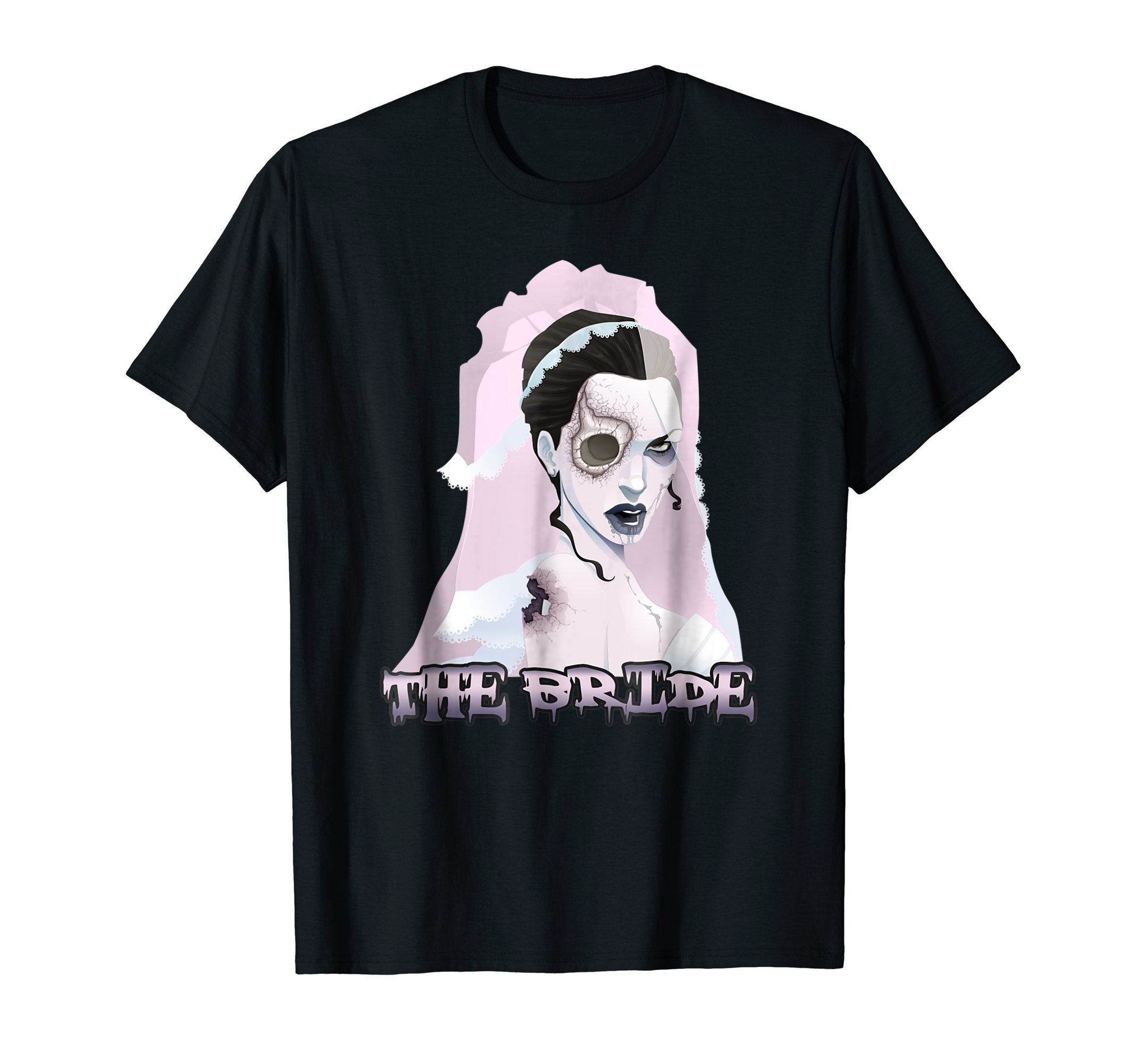 The-Bride-Zombie-Halloween-costume-T-Shirt-Tee-Gift