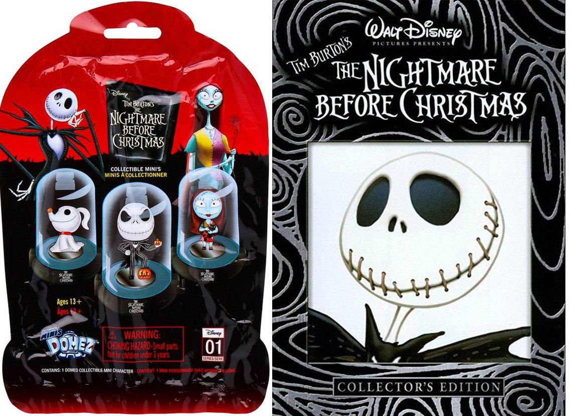 Amazon.com: Disney The Nightmare Before Christmas DVD Animated Movie ...