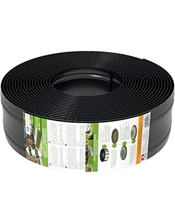 AMISPOL® Flexible Borde de Jardín, Bordillo Escondido - 125/4 mm, Longitud