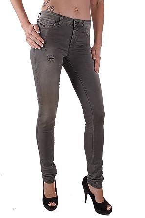 eab1e1eade Diesel Femmes Pantalons Jeans Skinny Skinzee 0662D Gris - Femme, gris, 26W  / 32L