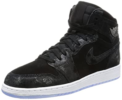online retailer d904c edaad Jordan Air 1 Ret Hi Prem Hc Gg Big Kids 832596-001 Size 4.5