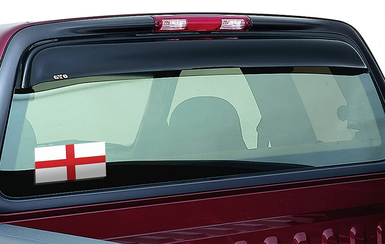 Desert Cactus England 4 Pack of 4 Inch Wide Country Flag Stickers Decal for Window Laptop Computer Vinyl Car Bumper Scrapbook 4