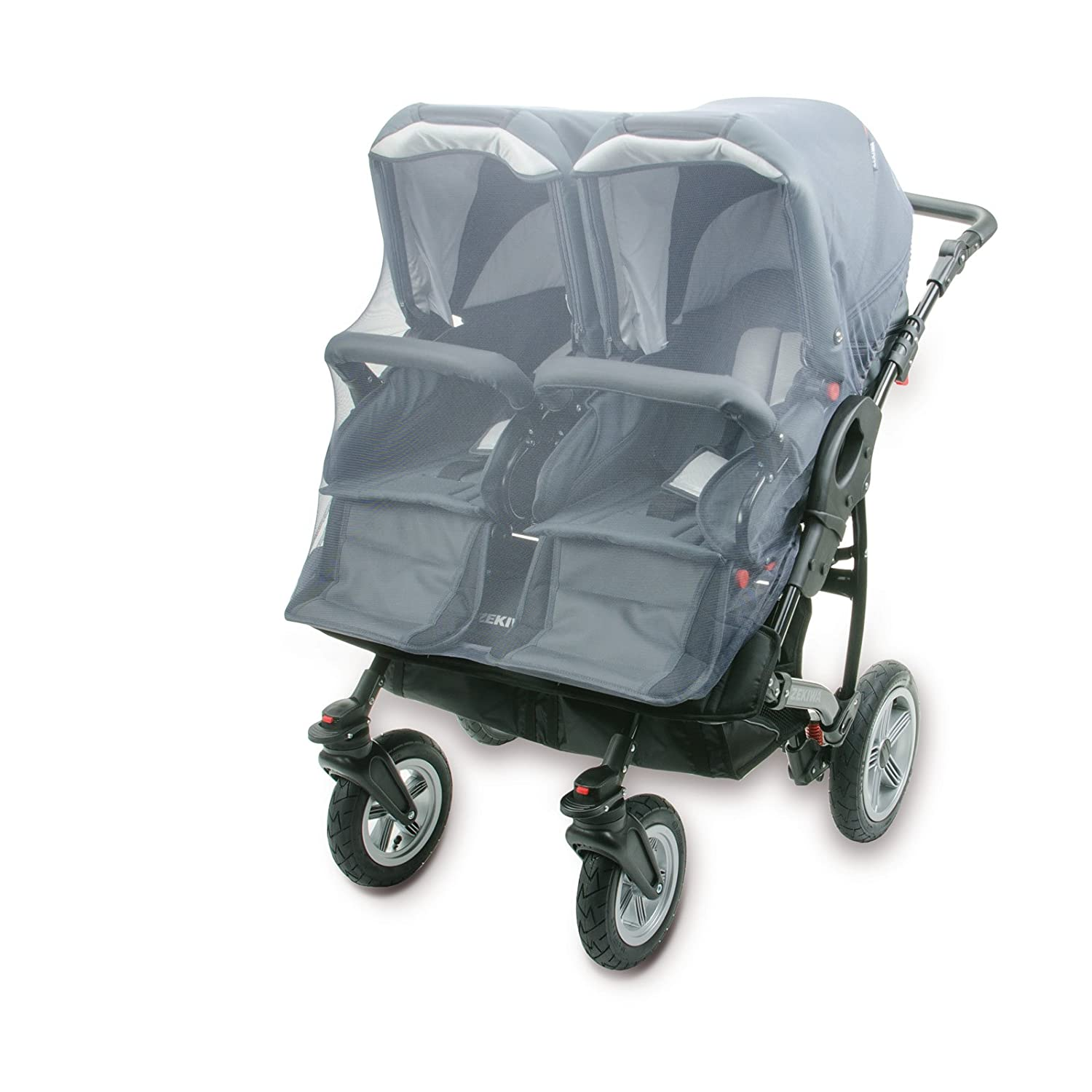 DIAGO Mosquito Net Twin Pushchair (Grey) 30102.75229