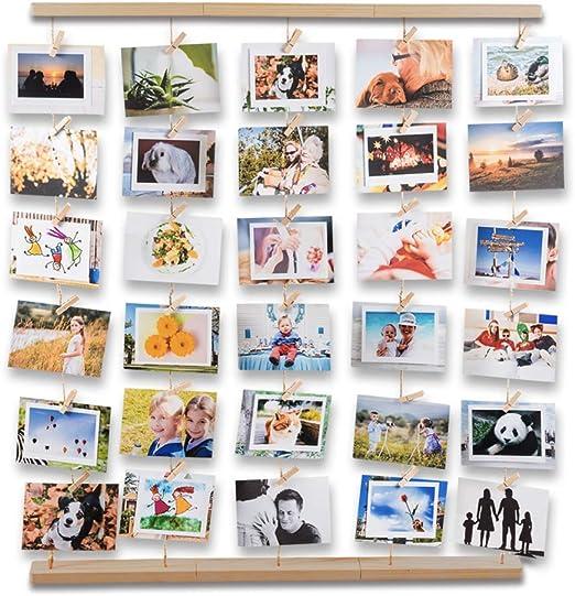 Quadrat Hängende Bilderrahmen Bildergalerie Fotogalerie Foto CollagezumAufhängen