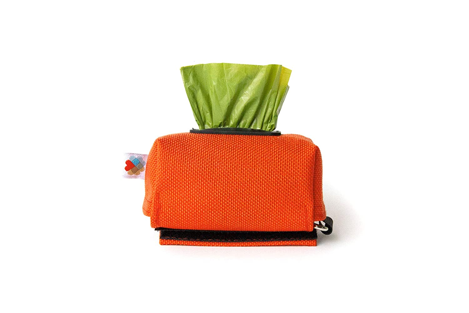 orange Wildebeest Funston Dog Baggie (orange)