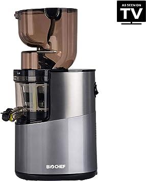 BioChef Altas Entsafter Whole Slow Juicer Pro Ultra Leistungsstarker Motor, Einfach Gemüse & Früchte Entsaften mit XXL Einfüllschacht, Spülmaschinen