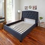 Classic Brands Heavy Duty Wooden Bed Slats Bunkie Board Frame