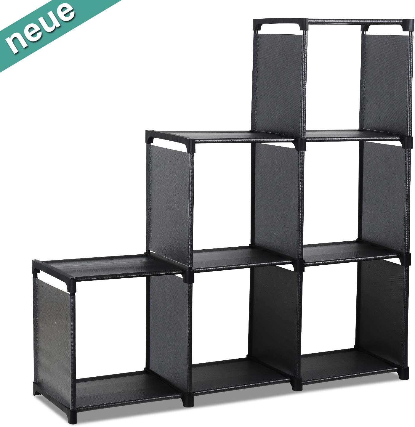 Standregale LENTIA Treppenregal DIY Würfelregal Cube Storage