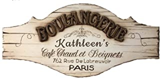 product image for Piazza Pisano French Boulangerie Decor Personalized Sign