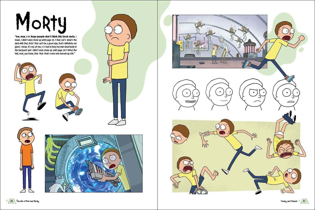 The Art Of Rick And Morty Amazonit Justin Roiland Libri In Altre