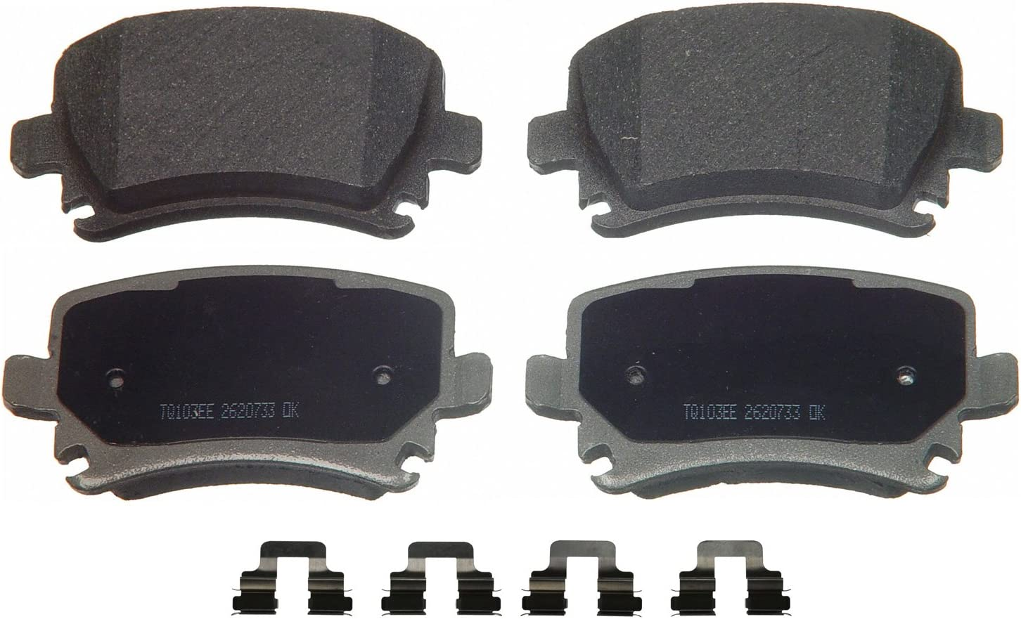 Rear Wagner QuickStop ZD1108 Ceramic Disc Pad Set