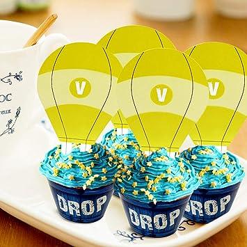 Sayala 24 Piezas de Cupcake para Decoraciones de cumpleaños ...