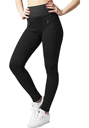 Amazon.com  Urban Classics Ladies Interlock High Waist Leggings ... f726ba7c14