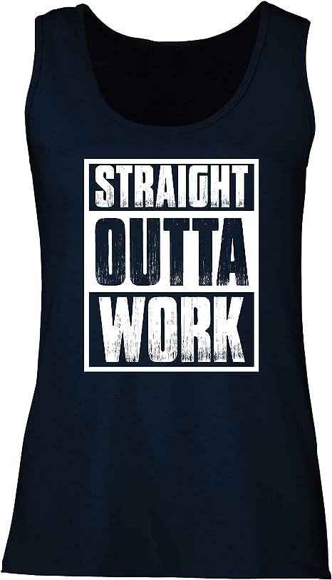 lepni.me Camisetas sin Mangas para Mujer La cuarentena de la Oficina promovida Directamente Fuera del Trabajo: Amazon.es: Ropa y accesorios
