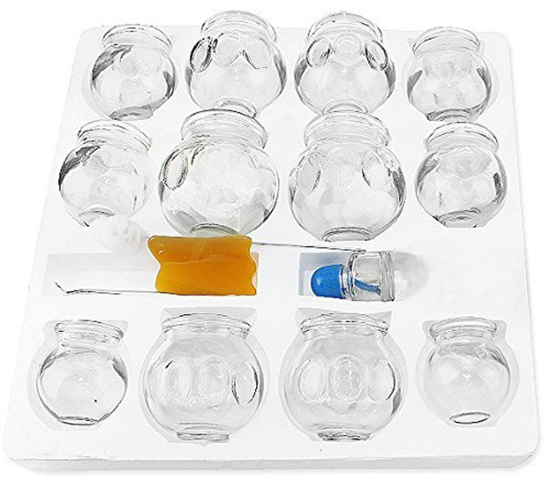 Cupping Therapy Side Effects: We Pay Your Sales Tax ~Thick Glass Cupping Set For