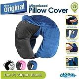 Cloudz Washable Travel Neck Pillow Cover - Blue