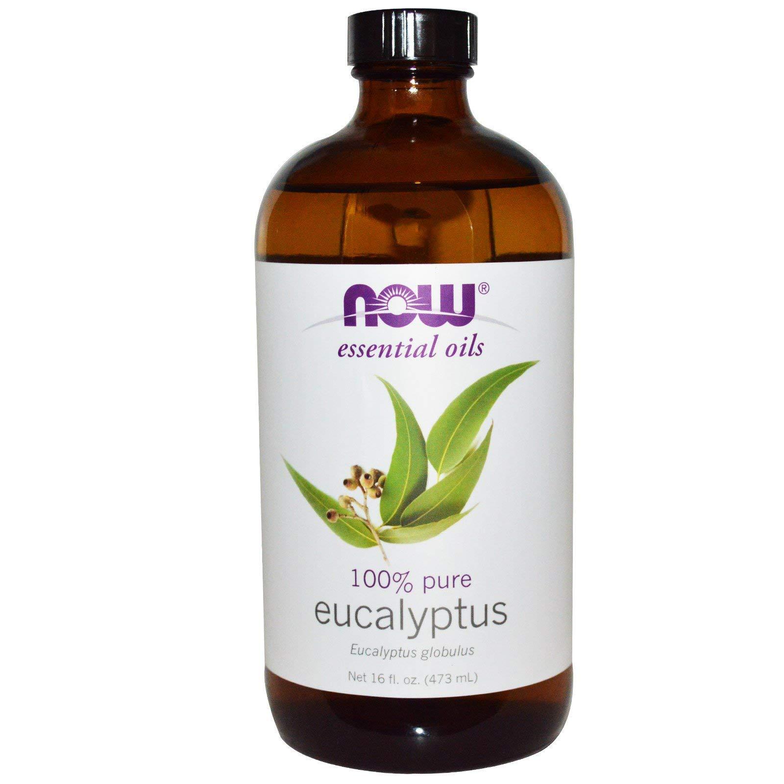 NOW Eucalyptus Essential Oil, 16 fl. oz. (2-pack)