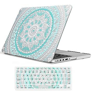 Amazon.com: iCasso - Carcasa rígida de goma para MacBook Pro ...