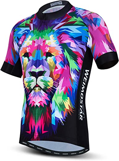 weimostar Bike Jersey Men Cycling Jersey bicycle top Breathable summer MTb shirts clothing