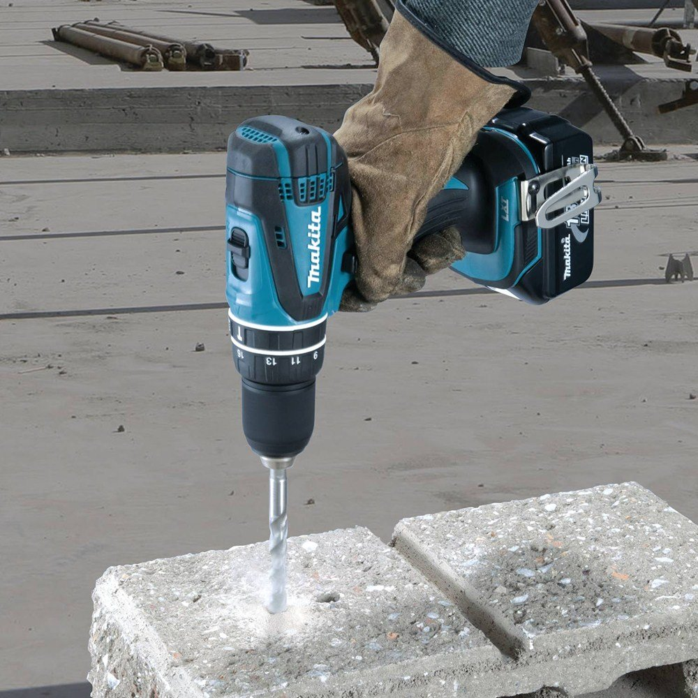 Drilling into concrete properly