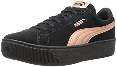 puma vikky platform black/copper rose