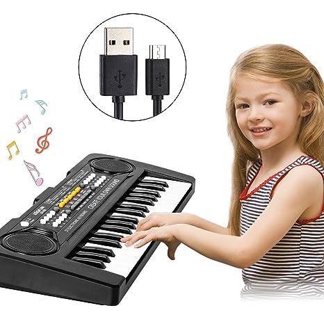 Baby Elektronisch Klavier Piano Keyboard Musikinstrument Tiere Spielzeug DE