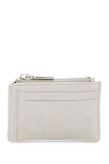 half off 7021f a879a Hobo International Kai Leather Card Holder Wallet (Cloud)