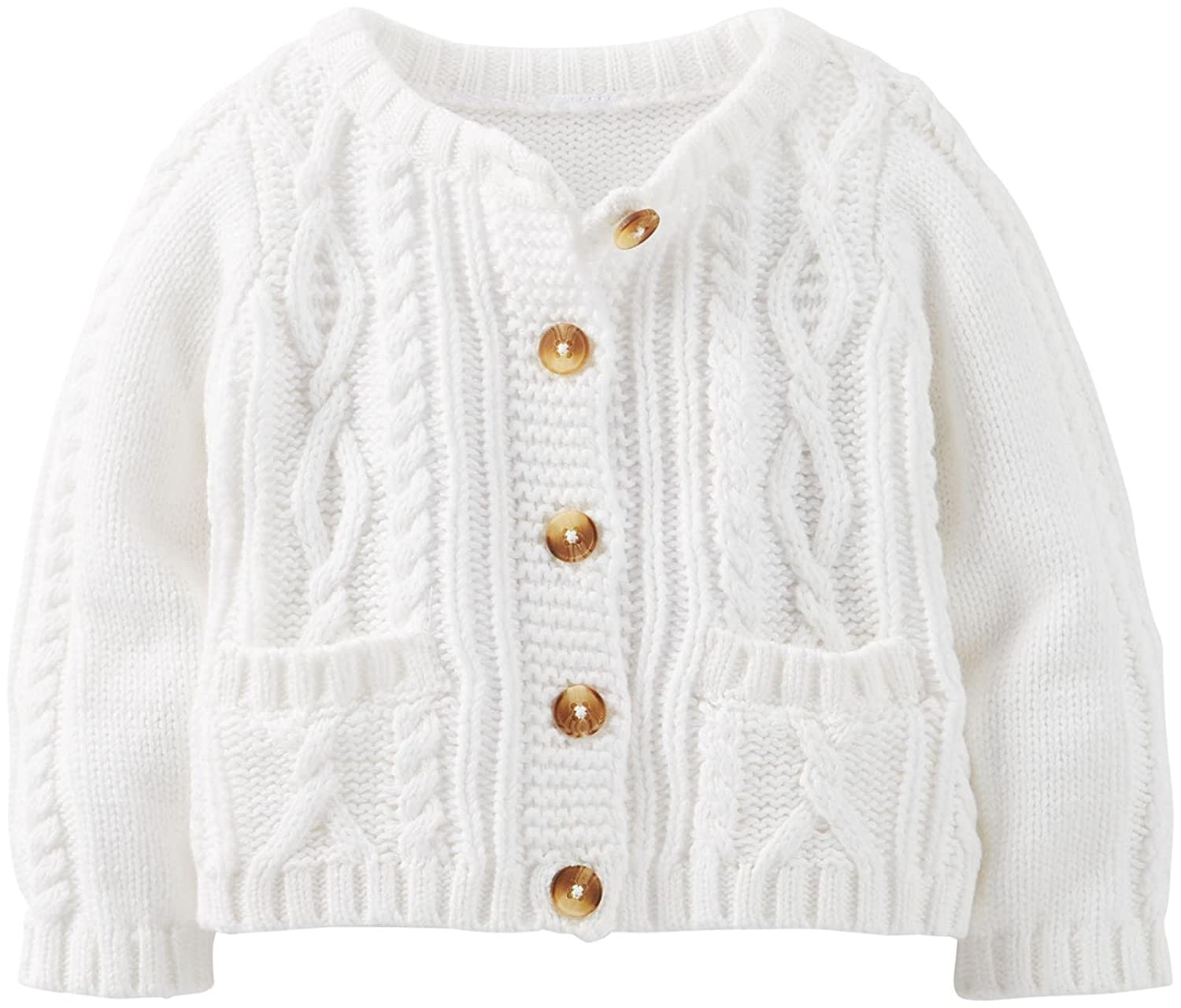 Carter's Baby Girls' t Cardigan (Baby) - Ivory Carters