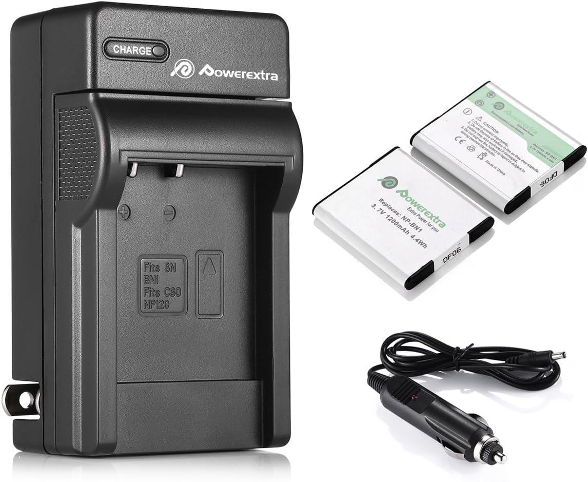 Cargador de batería para Sony CyberShot dsc-w-380 dsc-wx-5