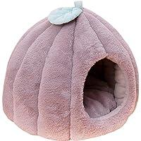 letaowl Posłania dla psów samochód zima śliczna dynia kształt zwierzaka kota pies pluszowy dom jaskinia dla kociaka…
