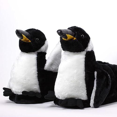 Sleeper'z - Pinguino - Pantoufles Maison D'animaux D'origine Et Drôle - Adultes Et Enfants - Hommes Et Femmes - Xl z8UzOs
