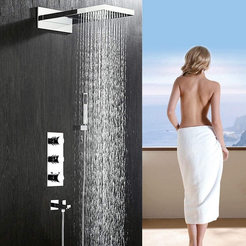 Gulakey 3機能ハンドヘルドシャワー蛇口システム水道を使用して設定隠さシャワー浴室のシャワーセットシャワー