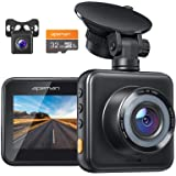 APEMAN Dash Cam Included 32GB SD Card, 1080P Dual Dash Cam Front and Rear, Car Camera with Dual 170 ° Wide Angle, Super…