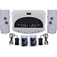 ACP ACUPRESSURE ABS Ion Dual Mode Machine for Detox Foot Spa (White)