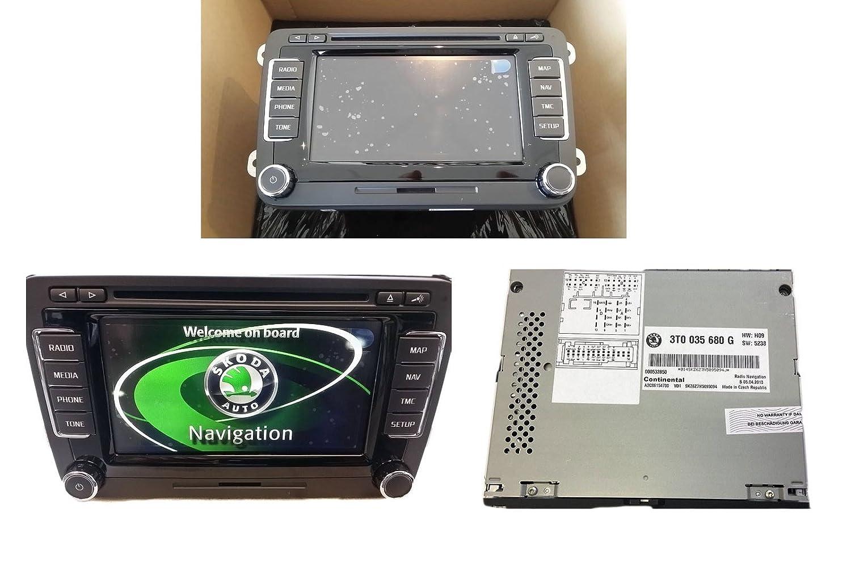 Original Skoda Columbus Touchscreen LED Navigation System