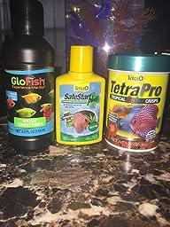 Amazon Com Tetra 29005 Glofish Aquarium Kit 3 Gallon