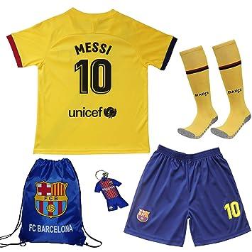 Barcelona #7 Griezmann 2019-2020 Ausw/ärts Kinder Fu/ßball Trikot Hose und Socken Kindergr/ö/ßen