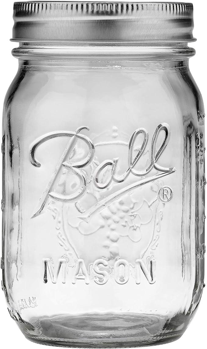 White Raspberry Truffle 16oz Mason Jar
